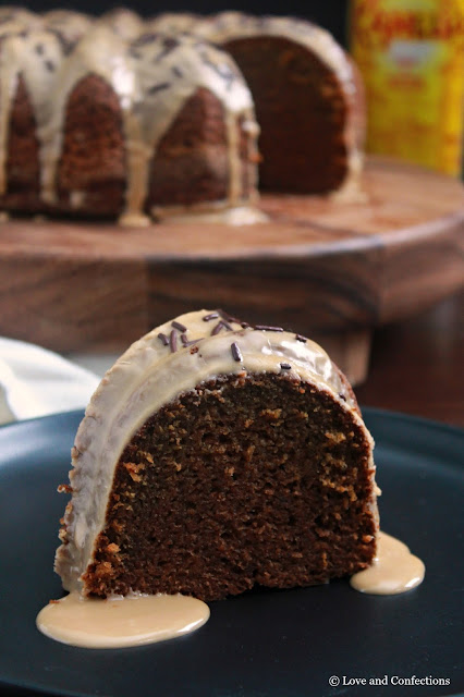 Vodka Kahlua Cake Bundt