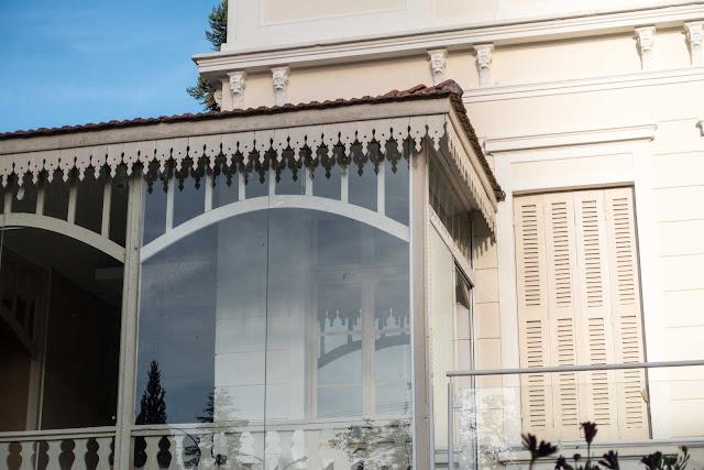 Detalhe dos lambrequins na Casa Iwersen