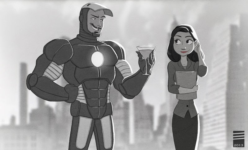 iron-man-paperman-crossover