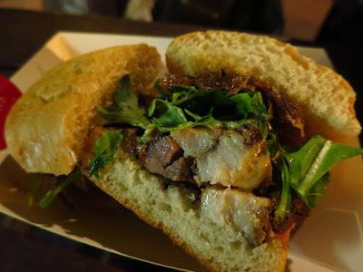 Park Bench Deli, porchetta sandwich