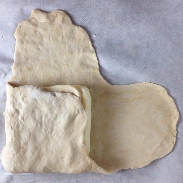 Laminating Dough - Encasing Butter