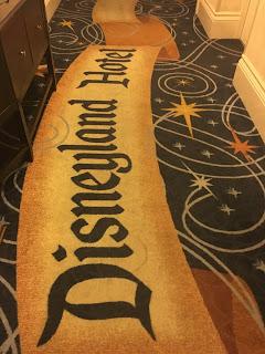 Disneyland Hotel Hallway Carpet