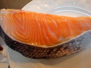 Salmon makanan super superfoods