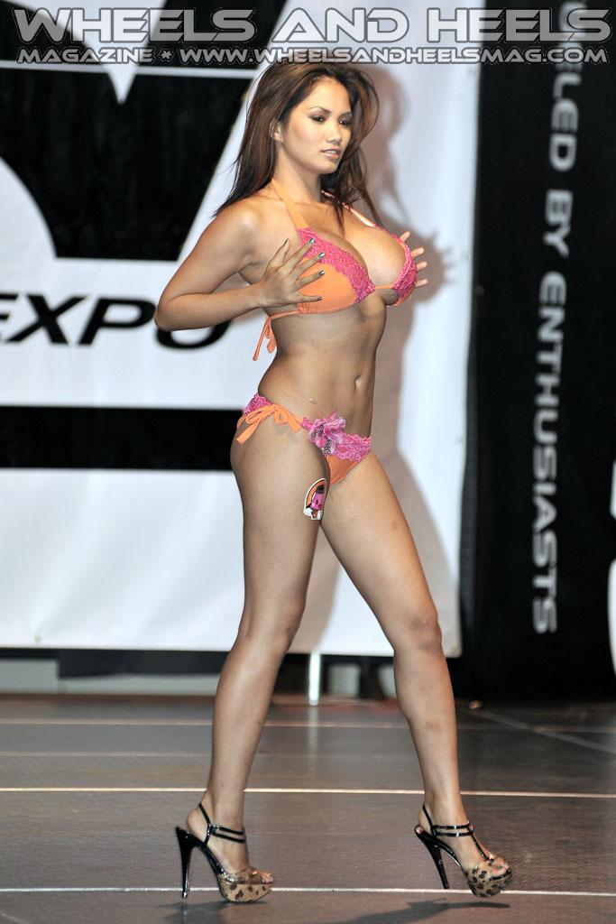 Xena Kai And Model In Bikini Contest