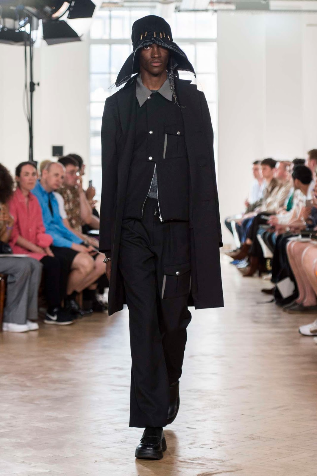 31173a07fed4 Kiko Kostadinov Spring-Summer 2019 - London Fashion Week .