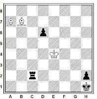 Estudio artístico de ajedrez de José Mandil, Schachvarlden 1935