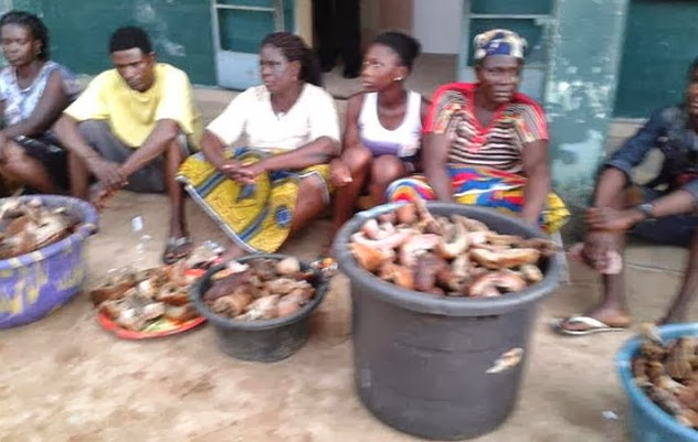 kpomo meat sellers arrested sapele