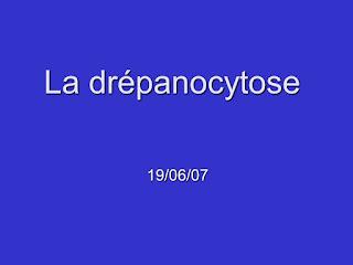 La drépanocytose .pdf