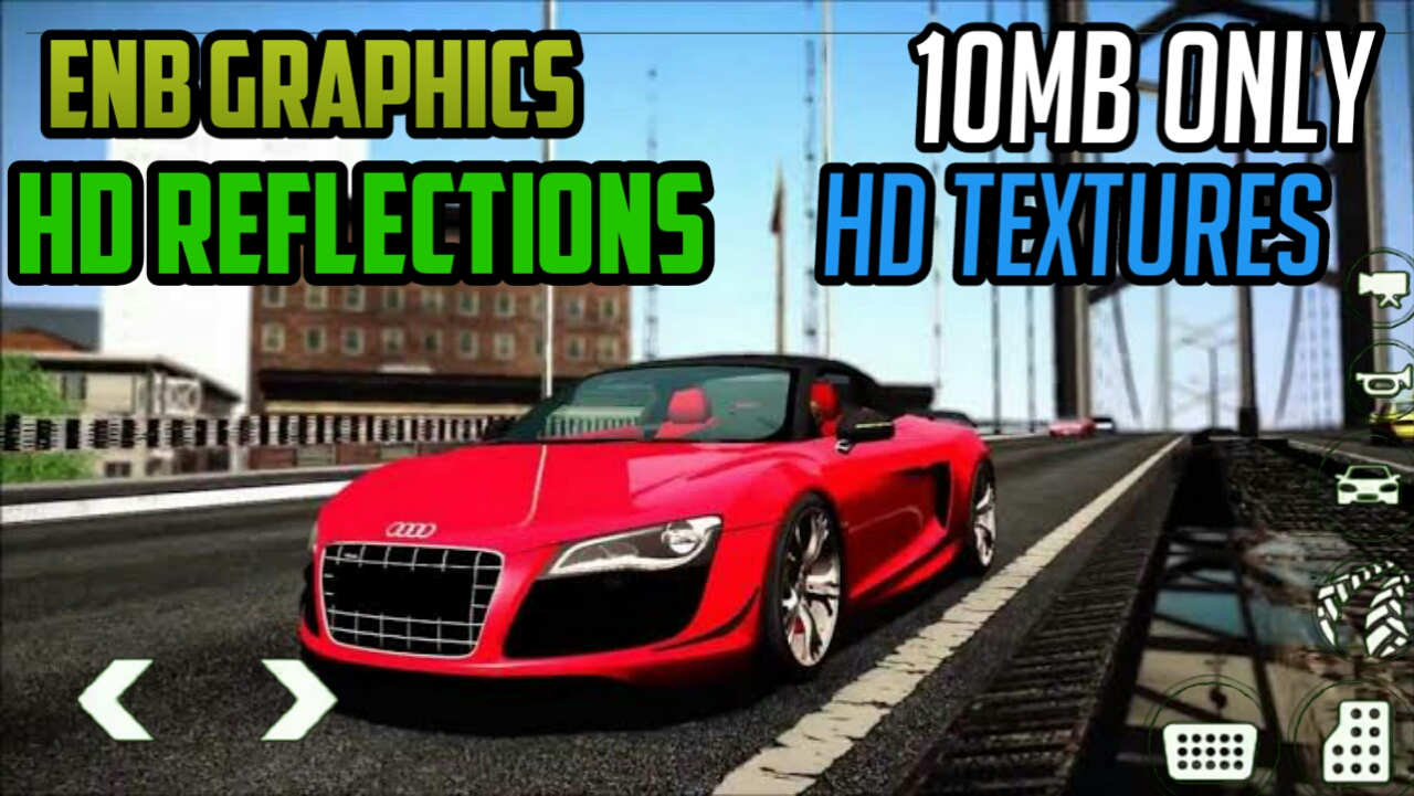 ENB GRAPHICS MOD IN GTA SAN ANDREAS IN JUST 10MB ONLY FOR ALL GPU