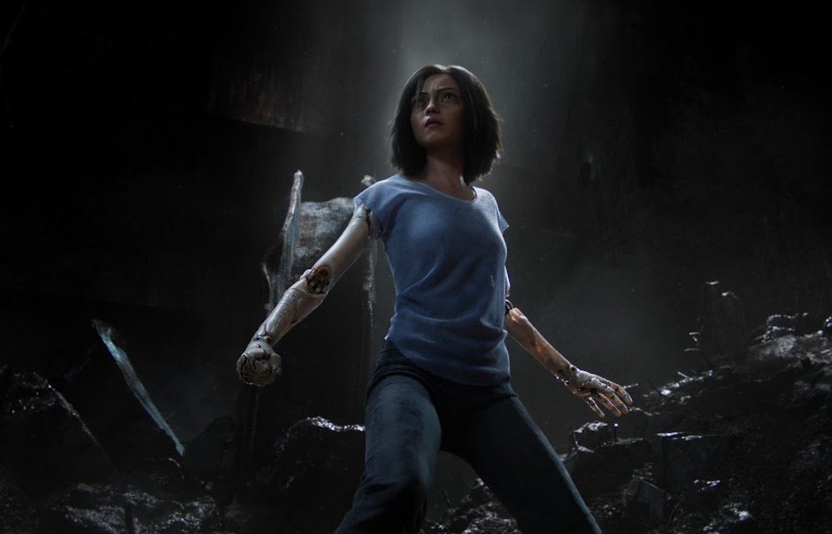 "Segundo trailer de ""Alita: Anjo de Combate"" revela o épico sci-fi de Robert Rodriguez"