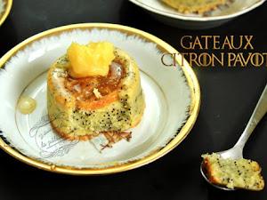 Gâteaux citron pavot de Sansa ~ Game of Thrones