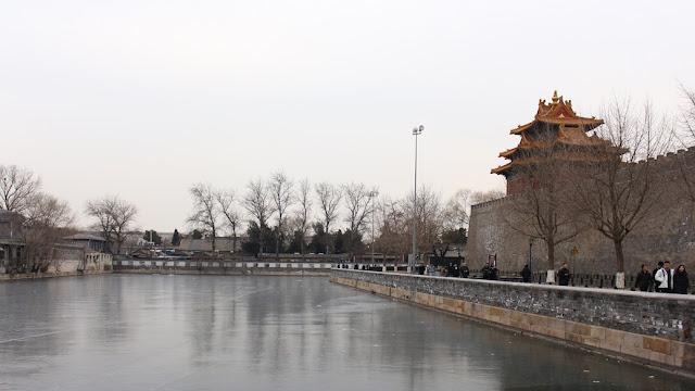 sungai membeku di forbidden city