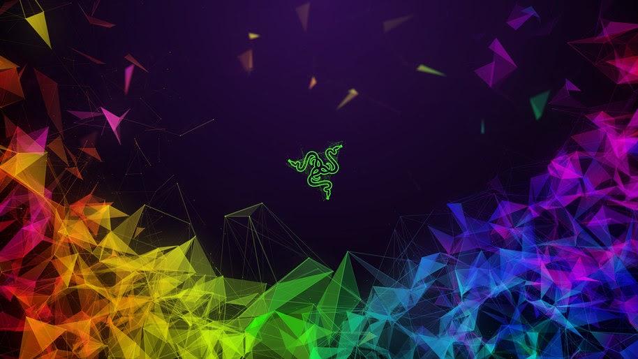 Razer, Logo, Colorful, Abstract, 4K, #7