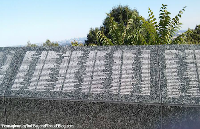 Eagle Rock Reservation Park in West Orange, New Jersey - Wall of Rememberence 9/11