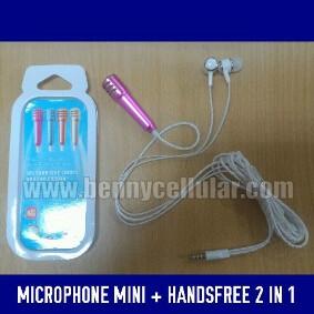Handsfree + Microphone mini ( Smule