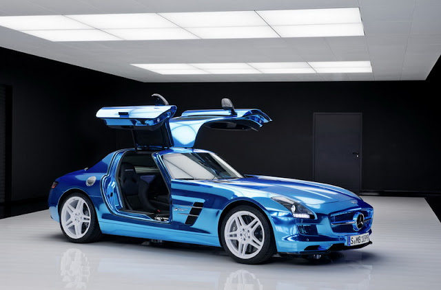 Exterior Mercedes SLS AMG Coupe Electric Drive