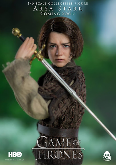 "Arya Stark 1/6 de ""A Game of Thrones"" - Threezero"