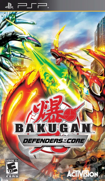 Game Bakugan Battle Brawlers -Defenders Of The Core (Usa) Iso Ppsspp For Android