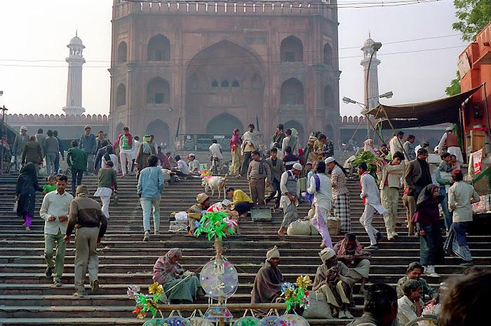 New Delhi, Jama Mashid, © L Gigout, 1991