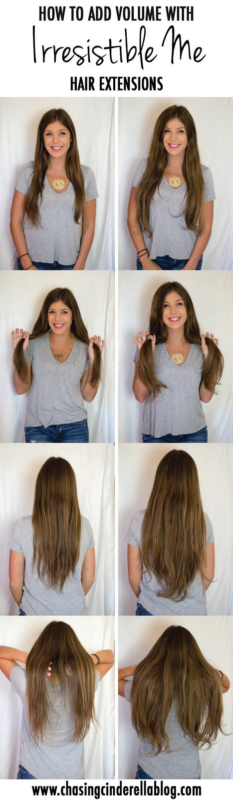 How to add volume with Irresistible Me Hair Extensions