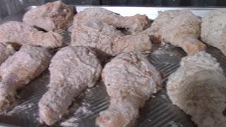 como hacer un muslo de pollo,reseta de pollo,como fritar el pollo,