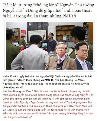 Một nửa sự thật của nhà báo Hoàng Hải Vân