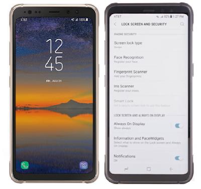Galaxy S8 Active Security