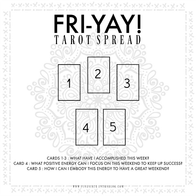 Fri-YAY! Tarot Spread