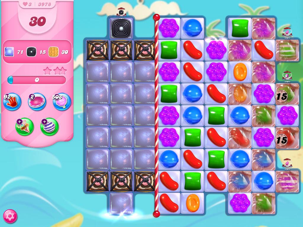 Candy Crush Saga level 3978