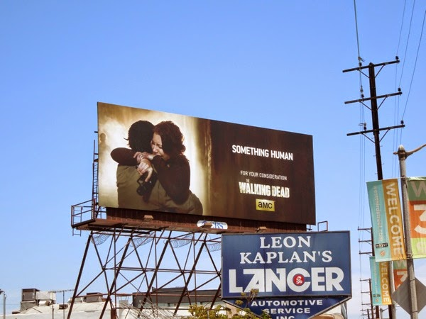 Walking Dead Glenn Maggie Emmy 2014 billboard