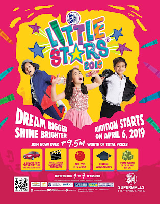 kids audition on sm little stars