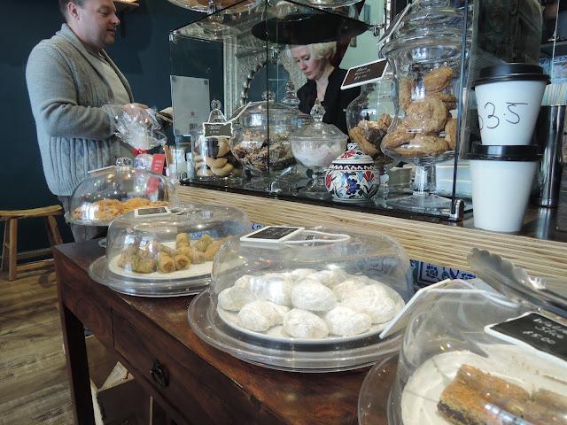 desserts;  the turkish tea house