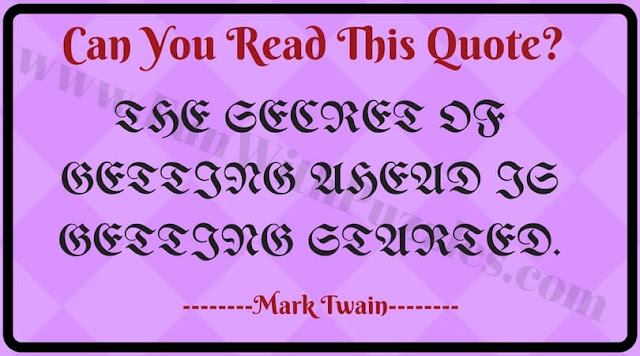 Can You Read this Message?