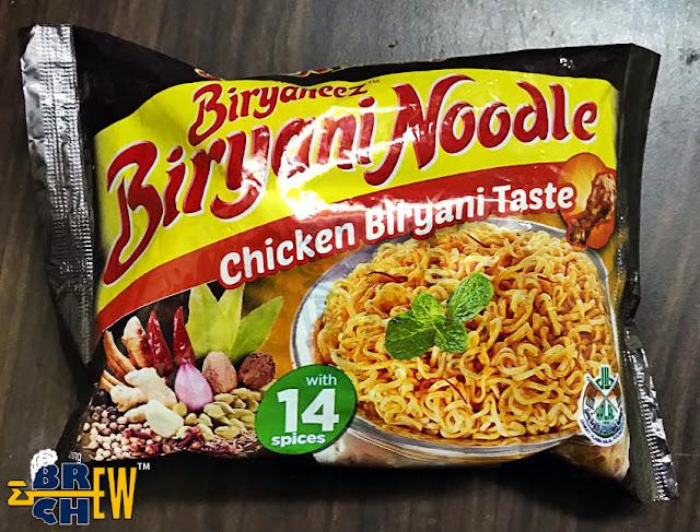 Biryaneez Biryani Noodles Review   Package