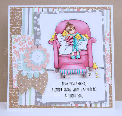 Heather's Hobbie Haven - Melissa Loves Movies Card Kit