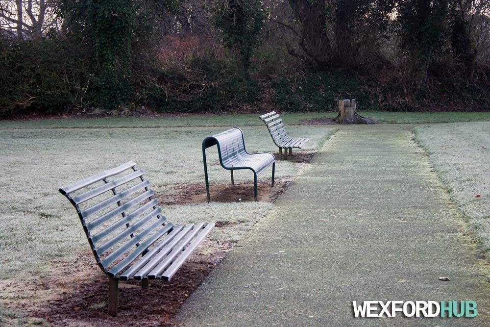 Benches in Redmond Park