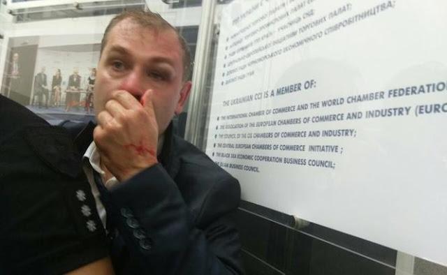 У Києві зірвали збори проросійської партії, організатори якої стоять за спробою вбивства Бабченка