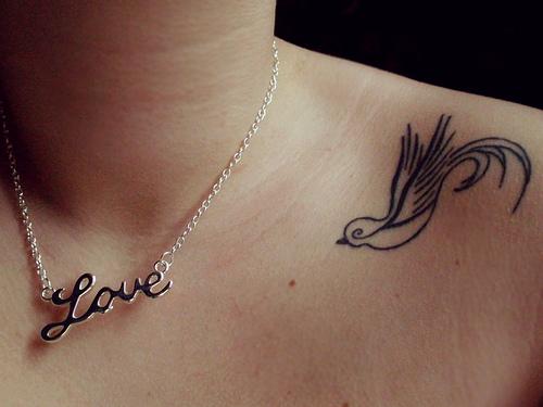 Tattoo Small Birds: Simple Bird Tattoos