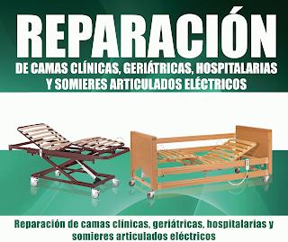 reparación camas clínicas, geriátricas, hospitalarias y somier