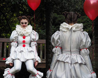 Pennywise from It Girls/ Ladies Costume