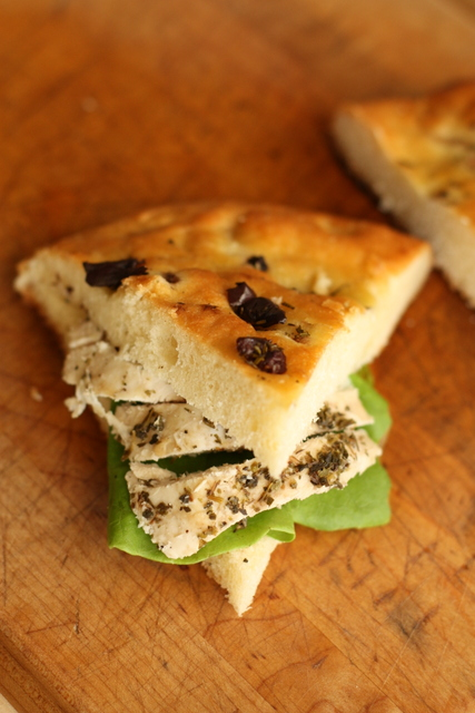 Half Baked Rosemary And Olive Focaccia