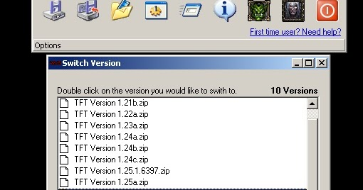 Warcraft Patch Version Switcher 1.23, 1.24, 1.24b, 1.24c, 1.24d, 1.24e, 1.25b, 1.26 - 1. Download the Warcraft 3 version switcher and it's individual file(s) you want to use with Version Switcher. - Free Cheats for Games