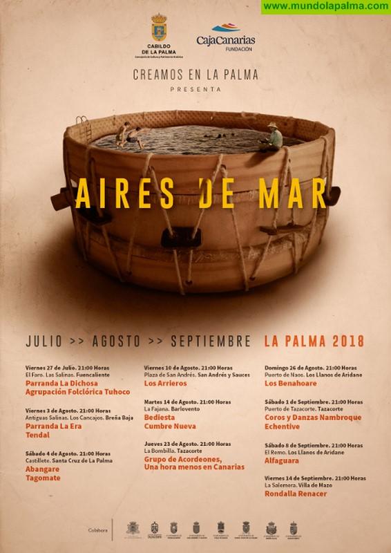 La rondalla Renacer cierra el ciclo 'Aires de Mar' con una actuación en La Salemera