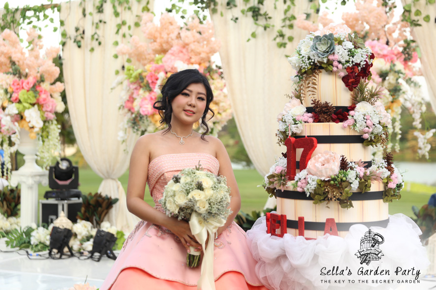 """The Key to the Secret Garden"" - Sella's 17th by Jetset EO Surabaya"