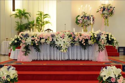 Dekorasi Dekorasi Pernikahan Gereja
