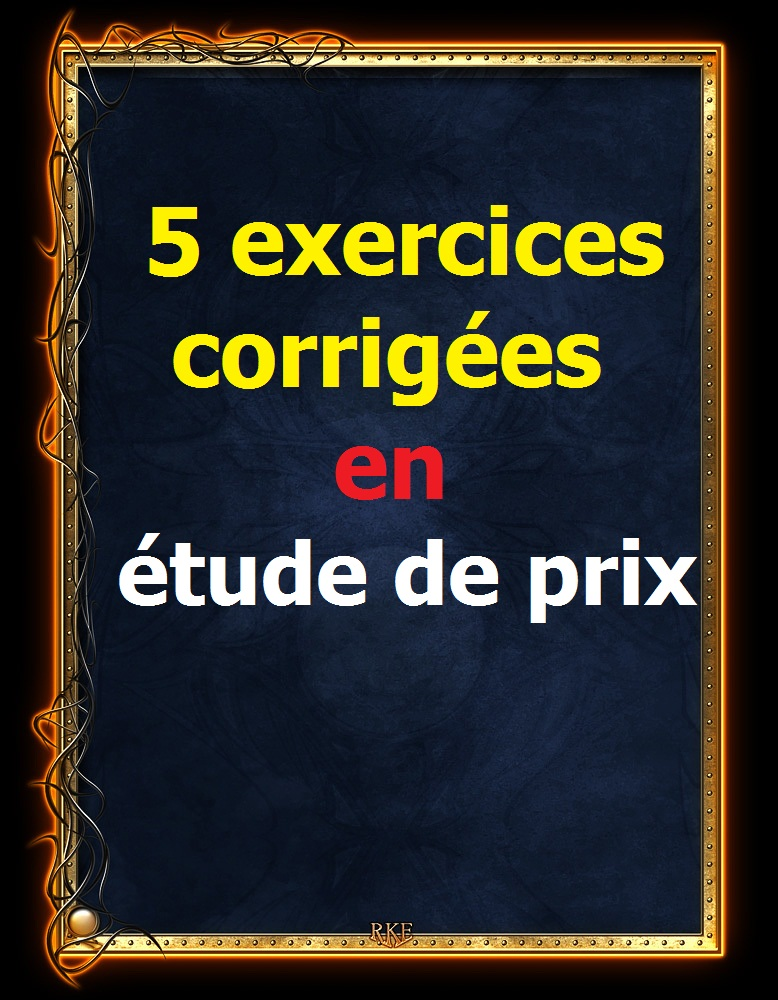 5 exercices corrig es en m tr b timent et tude de prix for Etude de batiment
