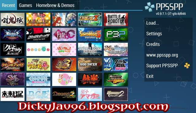 DOWNLOAD [PPSSPP GAME] LENGKAP HIGH COMPRESS ISO/CSO ANDROID