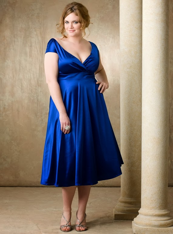 You Can Look Perfect Through Plus Size Bridesmaid Dresses