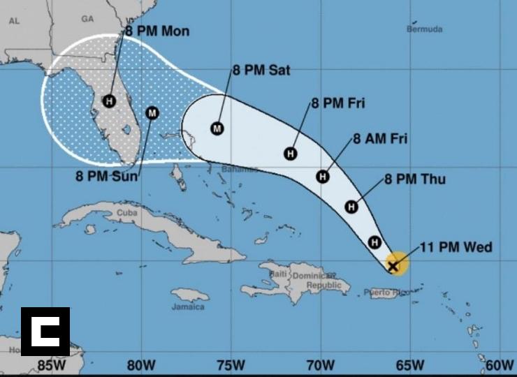 Dorian: Descontinúan alertas de huracán en Puerto Rico