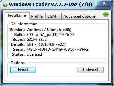 Windows Loader v2 2 2 Full